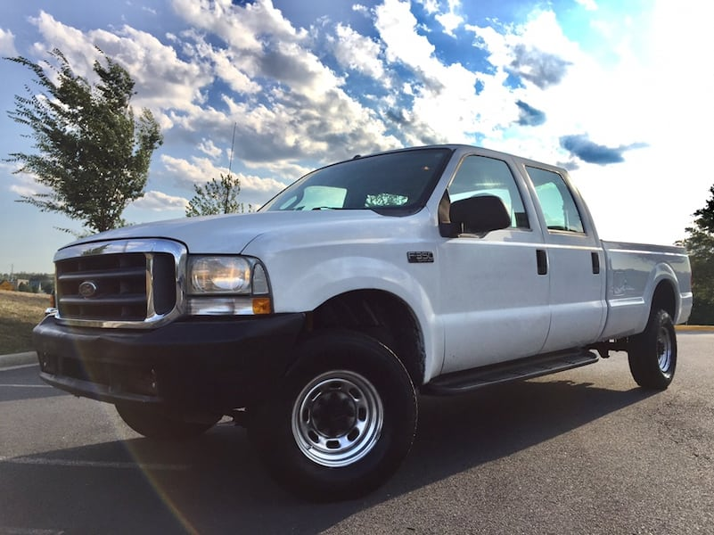 Ford F-350 4X4 PowerStroke Turbo Diesel Crew Cab Long Bed 0