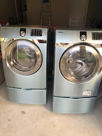 Samsung washer and dryer with steamers Fayetteville, 28314