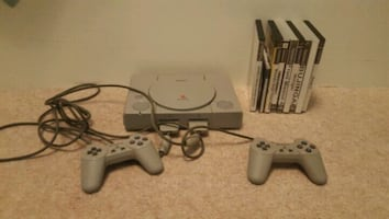 PS1 With some PS2 Games