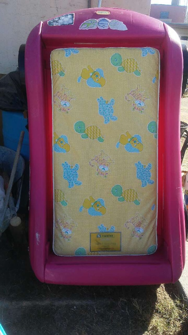 pink and blue floral print wooden cabinet bbc05d43-ef01-49c3-a383-303a41252308