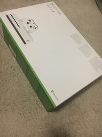 Xbox One S (Brand New + Game) Arlington, 22201