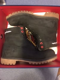 Limited timberland champion all black boot