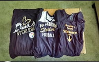 Steelers Maternity shirts. $7 each or $15 for all 3. Two are ladies XL, one is ladies large Raleigh, 27603