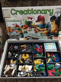 LEGO creationary game includes directions & all parts Wood-Ridge, 07075