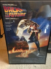 Back to the future mini movie poster Guelph, N1H 3M7