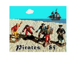 Pirates to Play, Pretend & Plunder
