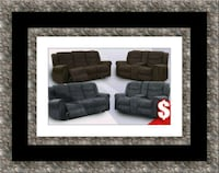 Grey or chocolate recliner set Rockville, 20847