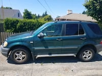 Mercedes - ml320 - 1999 for sale or trade on a sma Burien