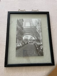 Eiffel Tower black and white picture frame Hampstead, 03841