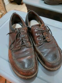 Leather shoes boots size 44 Toronto, M9C 1E5