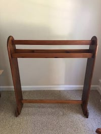 All Wood Quilt Stand Waldorf