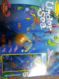 Under the Sea 4 ft tall floor puzzle