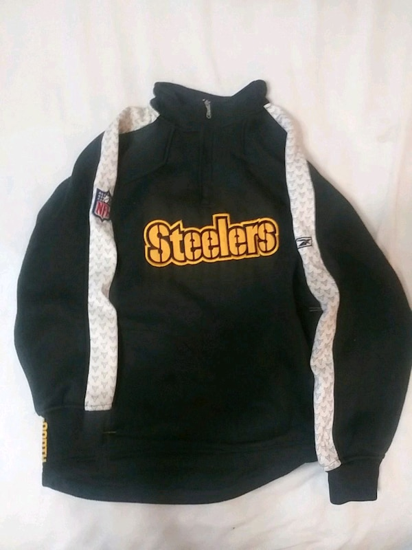 huge selection of 61dc8 55cdd Pittsburgh Steelers pullover jacket kids large