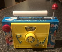 Fisher Price Vintage Radio in Great Condition  Stow