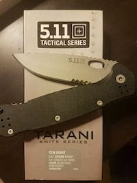 5.11 Tactical Ten Eight pocket knife (new) Coquitlam, V3B 7S3