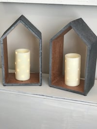 Farmhouse decor/ candles not included/ can be hung on wall Jackson, 38301