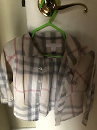 black, gray, and pink plaid button-up jacket Montréal, H1R