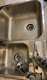 Double sink with BRAND NEW FAUCET  Toronto