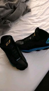 Black and blue 13 retro jordans Moneta, 24121