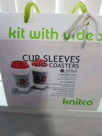 Cup sleeve and coaster making kit - 2 of each Mississauga, L5A 3Y3