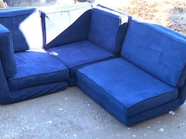 Your Zone flip sectional
