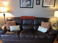 Leather Couch & Recliner  Alexandria, 22315