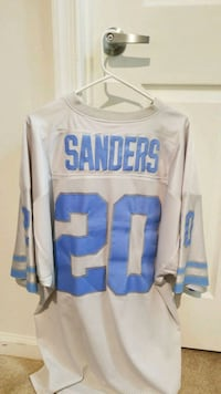 Barry Sanders Throwback Jersey  Odenton