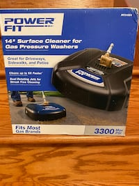 Powerfit Pressure washer surface cleaner NEW