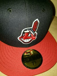 black and red Chicago Bulls fitted cap Cleveland Heights, 44118