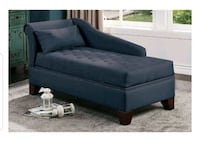 New Ink Blue Chaise Lounge w/storage  Santa Monica, 90401
