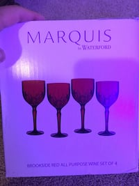 Waterford wine glasses new Lutherville Timonium