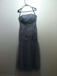 Grey Floorlength Size 10 Prom Dress West Columbia, 29170