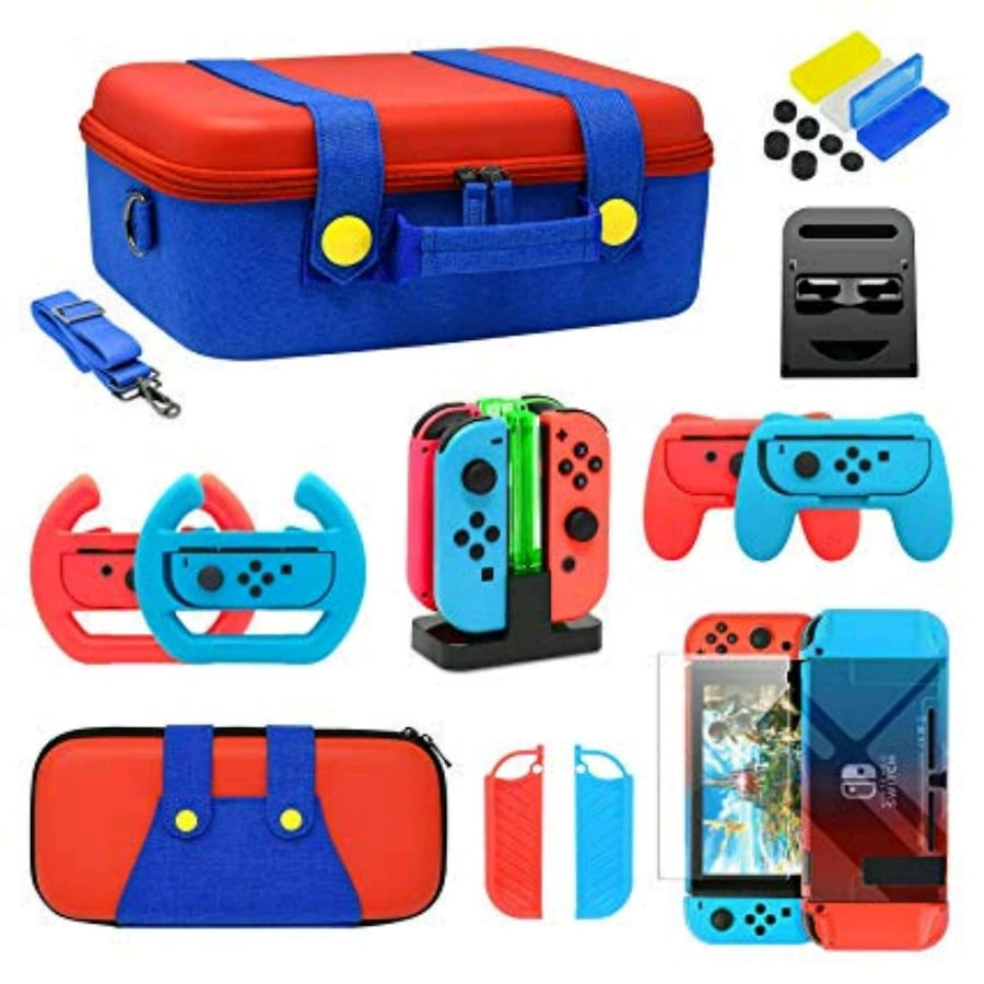 Ultimate Nintendo Switch Accessories Kit