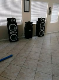 black and gray home theater system Las Vegas, 89148