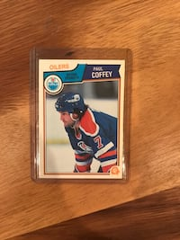 1983 Paul Coffey Hockey Card Calgary, T2M 2P3