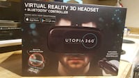 Utopia 360 Reality 3D Headset + Bluetooth Control