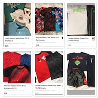 Boys clothing various brands and sizes please ask Bethlehem