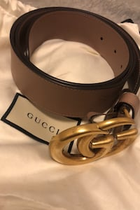 Gucci double GG buckle