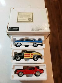 four assorted color car scale models Calgary, T2X 2C6