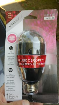 Kaleidoscope light bulb with pack Central Falls, 02863