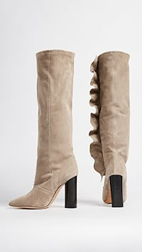 IRO suede boots size 38 Port Moody, V3H 0J2