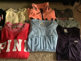 *UPDATED 13 Piece Lot of PINK Clothing