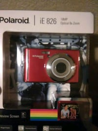 18 MP red Polaroid iE 826 point-and-shoot camera w Salt Lake City, 84116