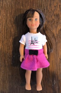 Mini American Girl Doll Grace for travel Mc Lean, 22101