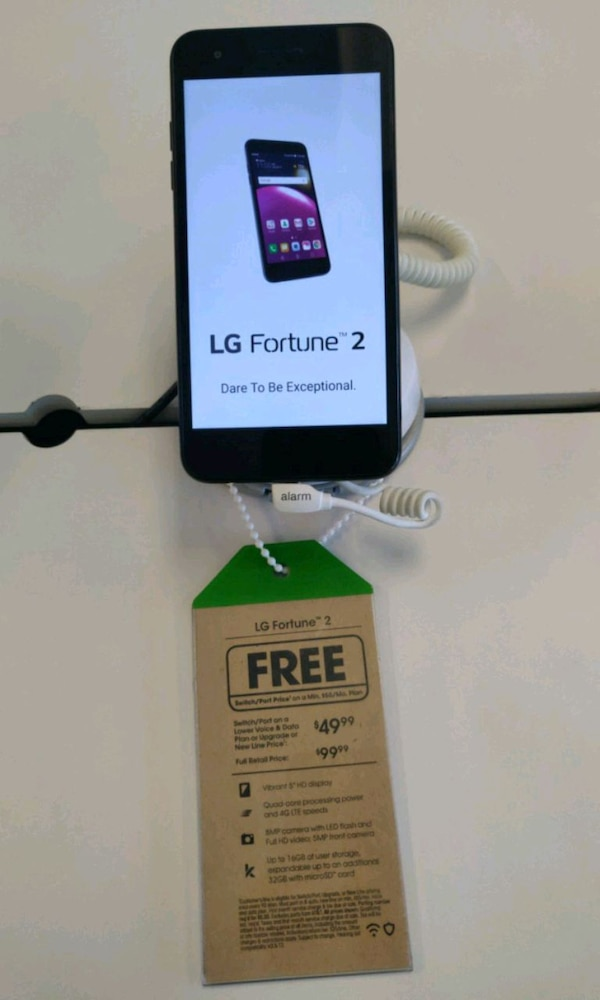 Used LG Fortune 2 for sale in Marysville - letgo