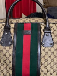 women's black and red Gucci tote bag New York, 10025