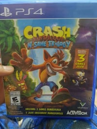 Sony PS4 Crash Bandicoot N-Sane Trilogy case Toronto, M3C 2Z5