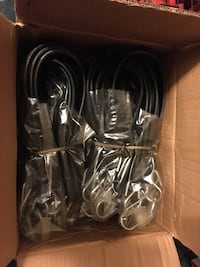 "21"" rubber bungee cords with hooks truck flat bed  box of 50. Brand new Las Vegas, 89141"