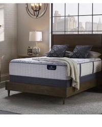 SEALY NORABELL KING PLUSH MATTRESS  Reno
