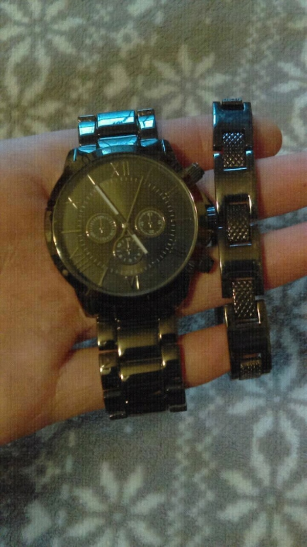 Watch With Matching Bracelet